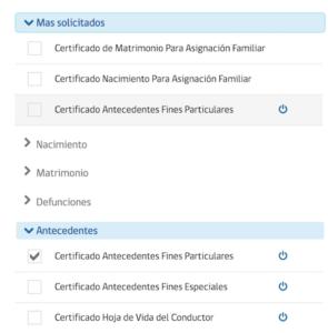 certificado de antecedentes penales en chile