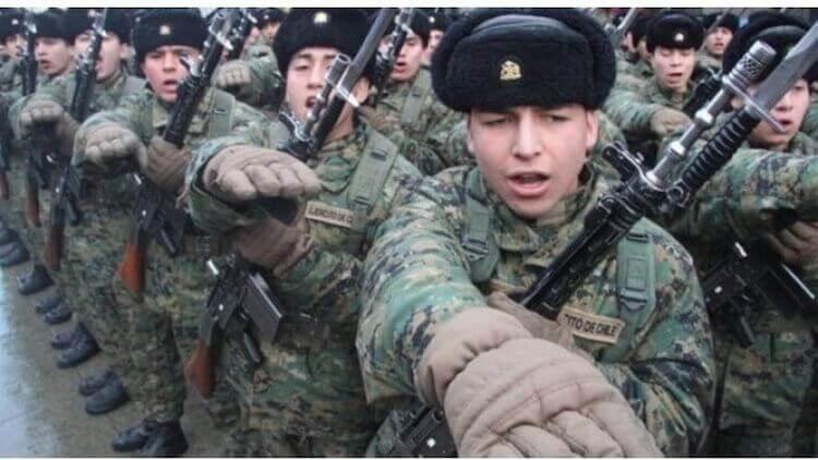 certificado de situacion militar de Chile