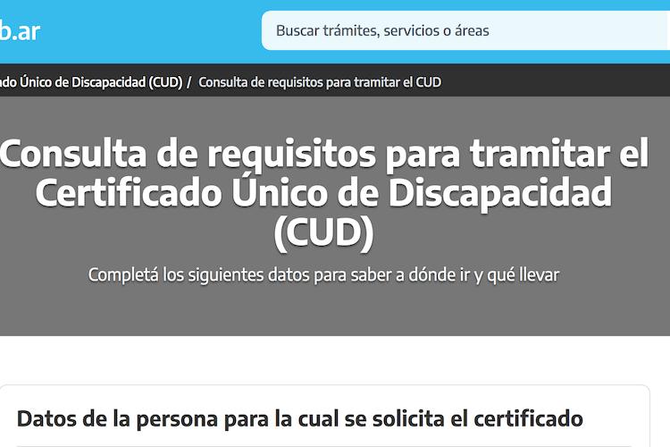 ¿Cómo obtener el Certificado Único de Discapacidad?