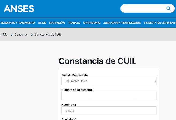 ¿Cómo obtener la constancia de CUIL en Argentina?
