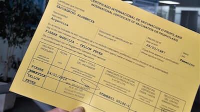 Cómo conseguir el certificado internacional de vacunación Venezuela