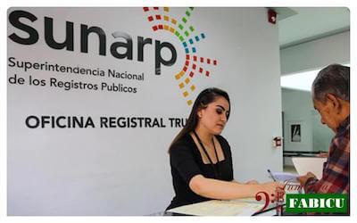 certificado registral inmobiliario (CRI) de SUNARP