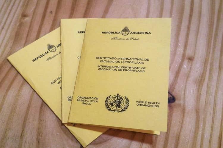 Cómo Conseguir el Certificado Internacional de Vacunación en Argentina