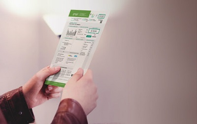 person holding receipts