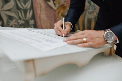 Como llenar el formulario de certificado prenupcial