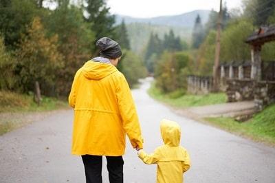 dia-lluvioso-madre-e-hija-caminando-despues-lluvia-vestida-impermeable-amarillo-familia-feliz-nino-min