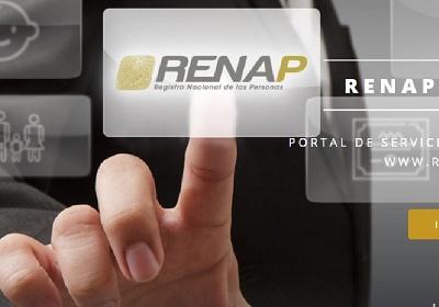 certificado de defunción RENAP