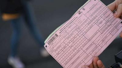 certificado de infracciones