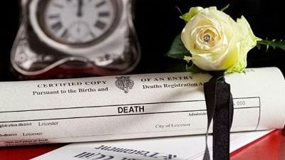 el Certificado de Defunción